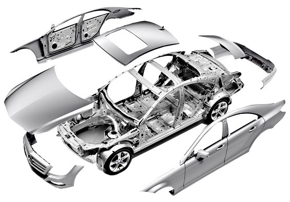 Кузовные детали W210
