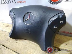 Рулевое колесо руль черный подушка для Mercedes W203\24 8