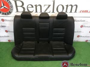 Салон кожаный чёрный комплект седан для Mercedes C-Class W204/1 2