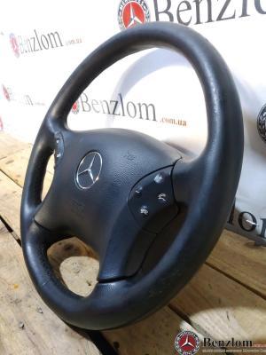Рулевое колесо руль черный подушка для Mercedes W203\24 2