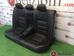 Салон кожаный чёрный комплект седан для Mercedes C-Class W204/1 3