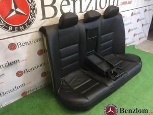 Салон кожаный чёрный комплект седан для Mercedes C-Class W204/1 4