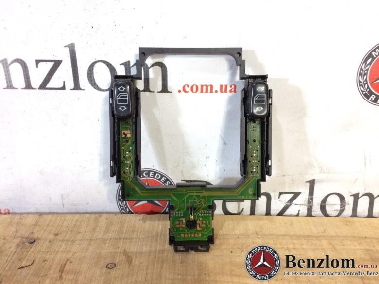 Блок кнопок стеклоподъемников зеркал для Mercedes W202/87 (2)
