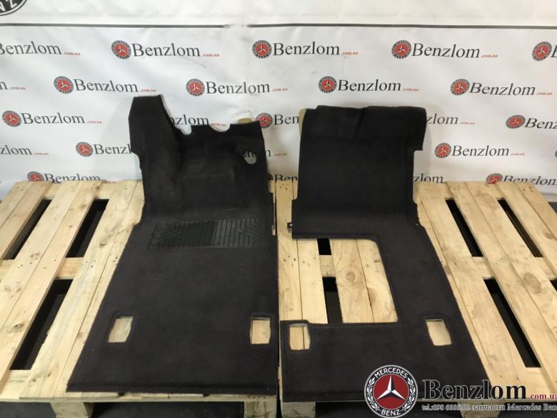 Ковры обшивка салона для Mercedes A-Class W168