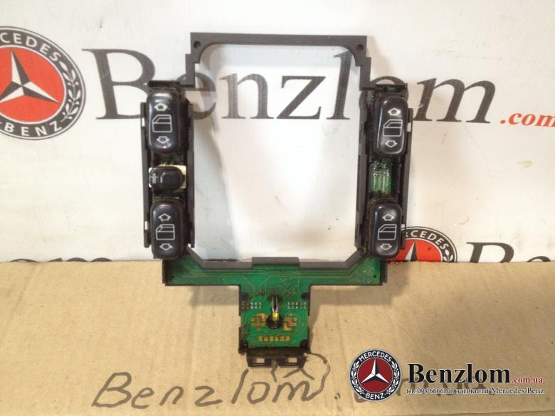 Блок кнопок стеклоподъемнеков,зеркал для Mercedes  W202 (8210)