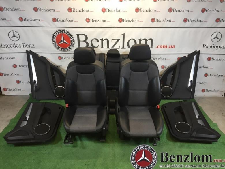 Салон комплект универсал комбинированная кожа для Mercedes C-Class W204/2