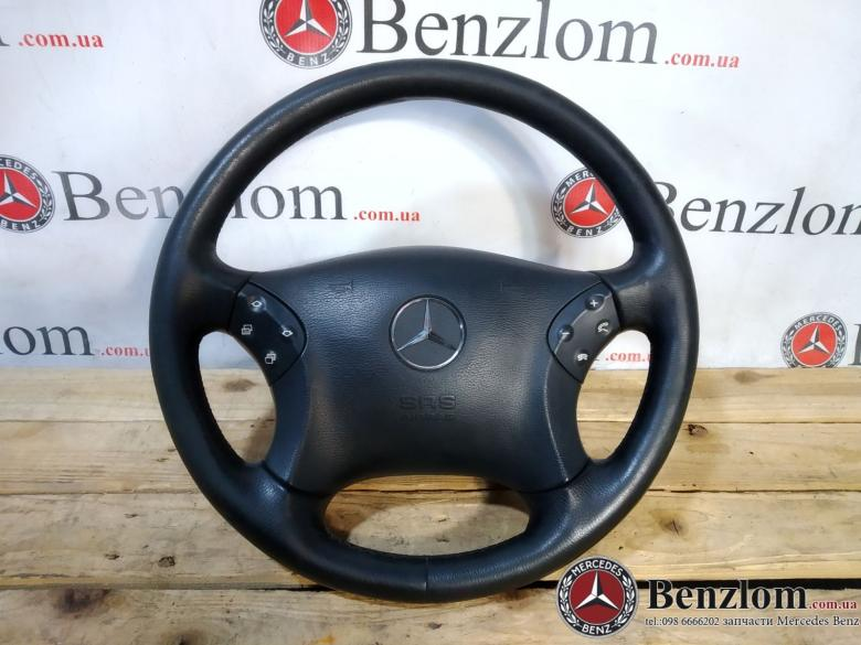 Рулевое колесо руль черный подушка для Mercedes W203\24