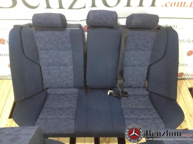 Сиденье синие задние для Mercedes  W202/39