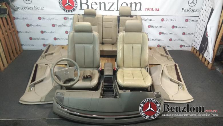 Салон кожаный комплект для Mercedes C-Class W202\56
