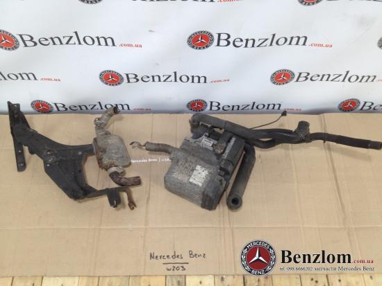 Mercedes-benz w203 2000-2007 системы вентиляции, отопления и кондиционирования воздуха