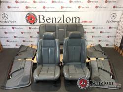 Салон кожаный седан, серий комплект карти сидения для Mercedes C-Class W202\51