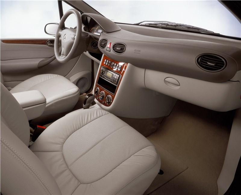 Внутренние компоненти кузова W168